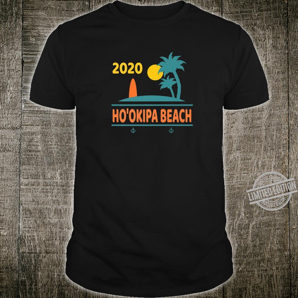 2020 Ho'okipa Beach Vacation Hawaii Family Trip Shirt