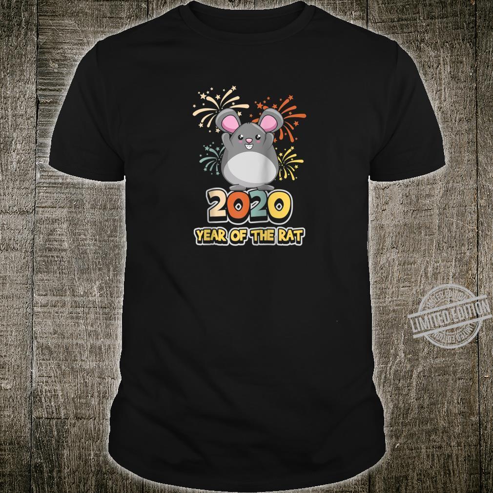 2020 Year Of The Rat Cute kawaii Animal Lunar New Year Shirt