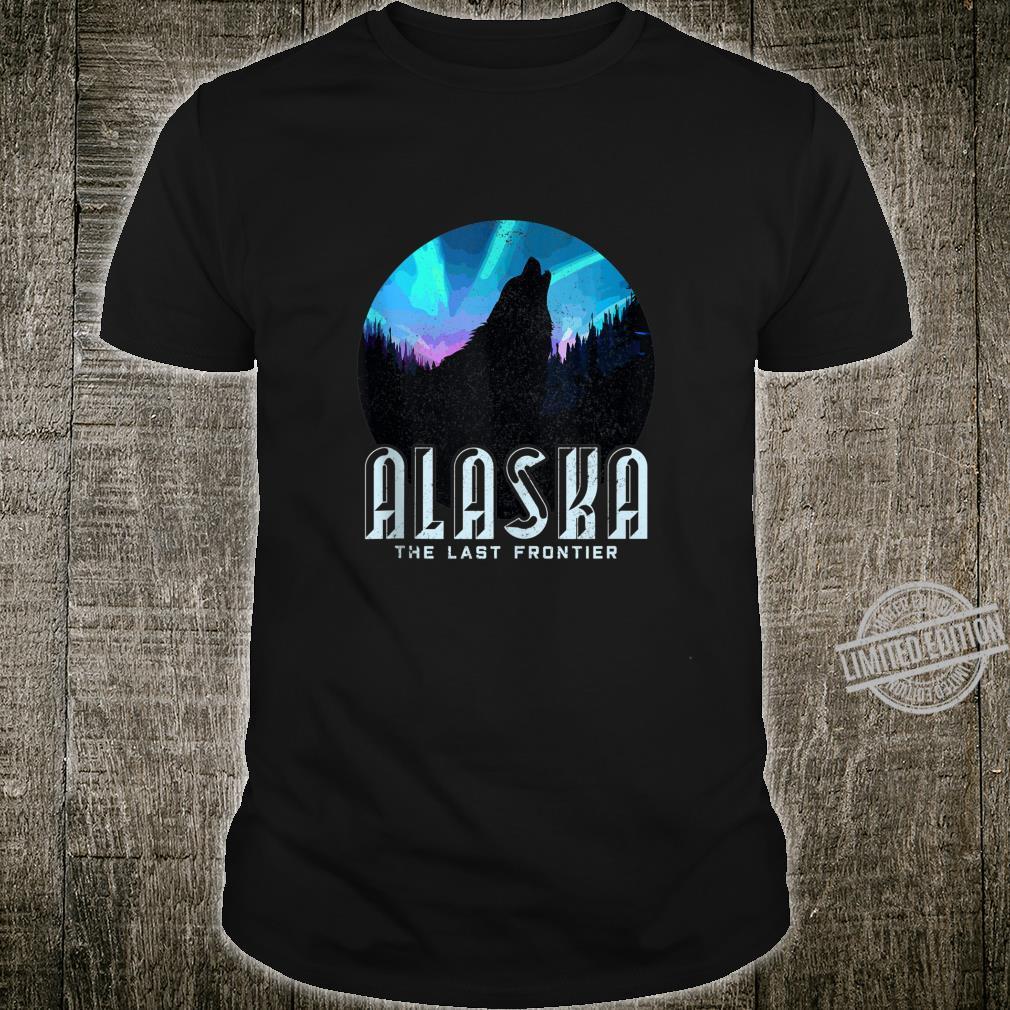 Alaska Wolf The Last Frontier Nature Souvenir Shirt