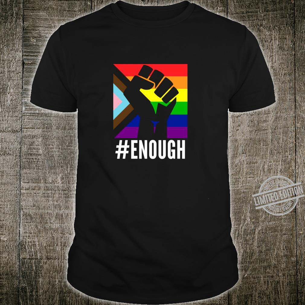 Anti Racist Fuck Racism Equal Rights Equality Protest LGBT Shirt