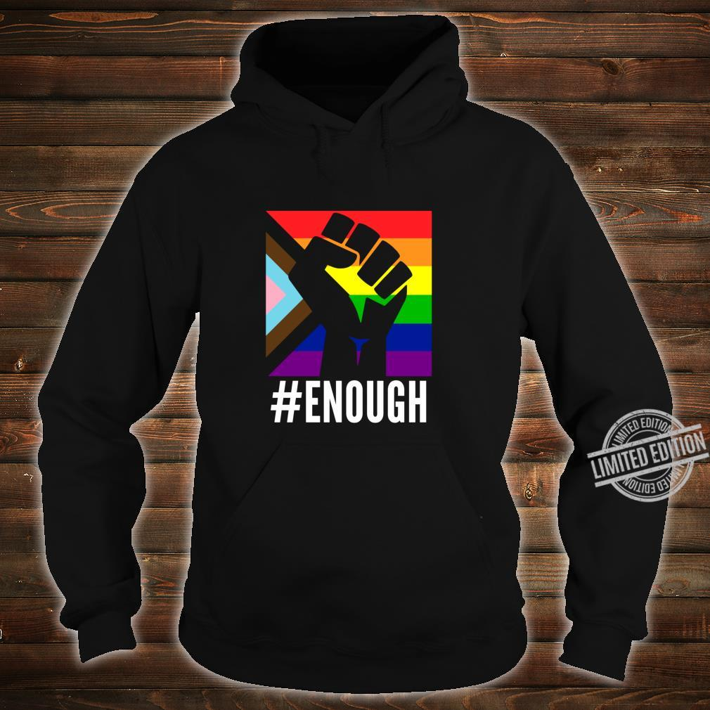 Anti Racist Fuck Racism Equal Rights Equality Protest LGBT Shirt hoodie