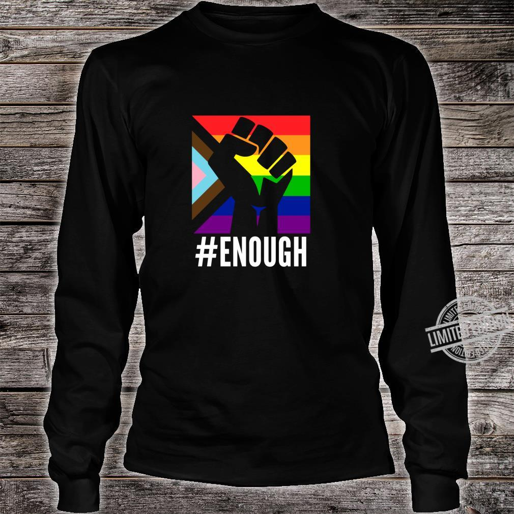 Anti Racist Fuck Racism Equal Rights Equality Protest LGBT Shirt long sleeved