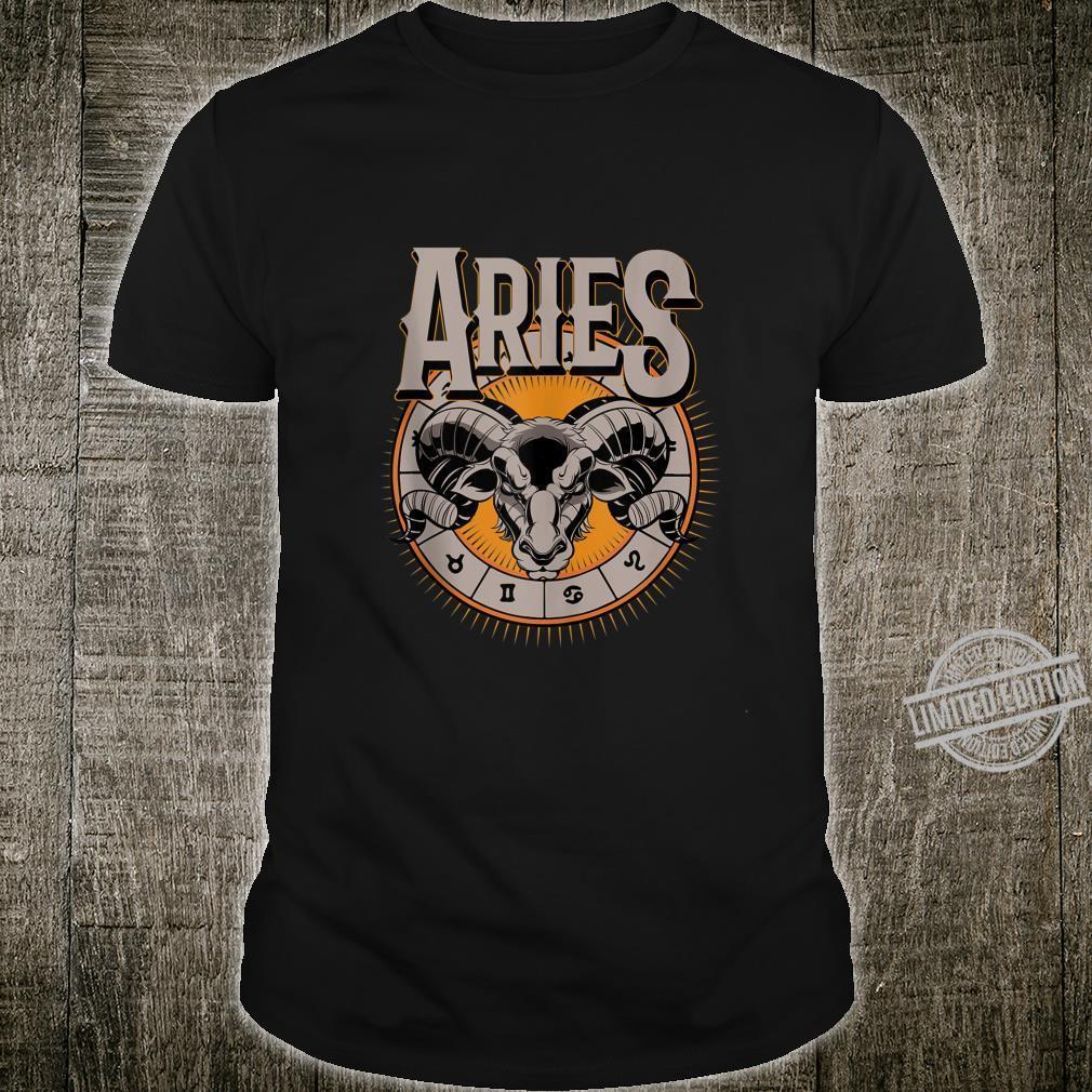 Aries Horoscope Birthday King Of The Stars Shirt