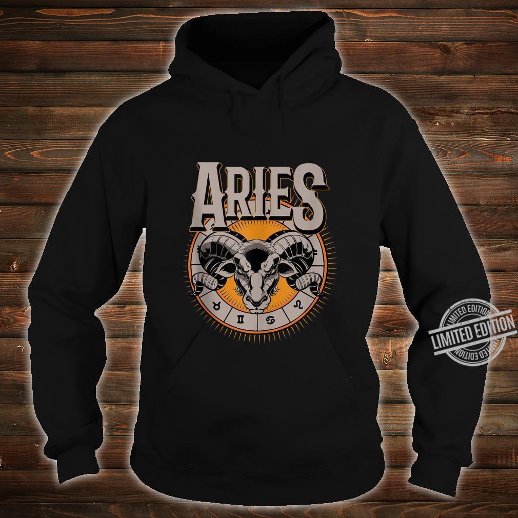 Aries Horoscope Birthday King Of The Stars Shirt hoodie