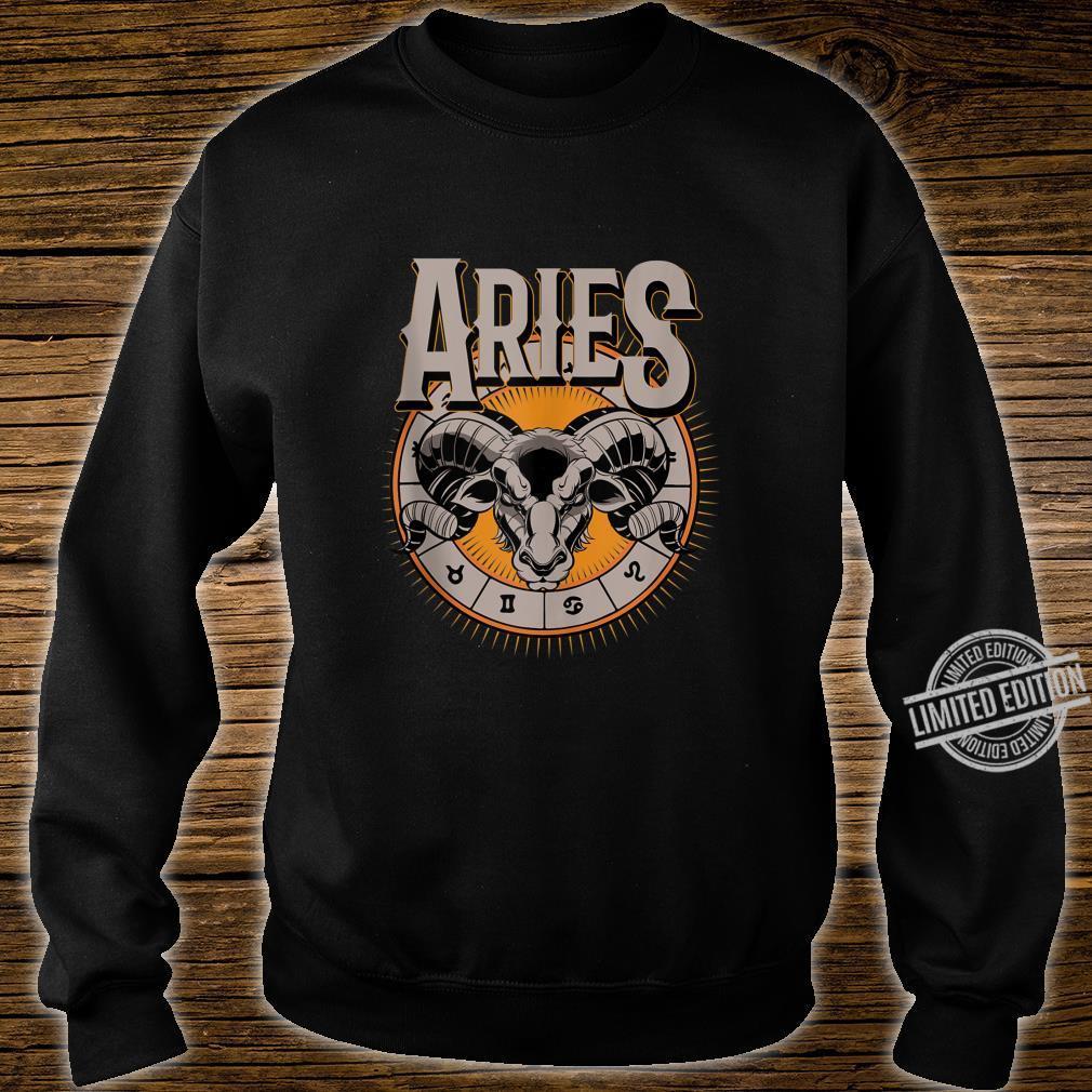 Aries Horoscope Birthday King Of The Stars Shirt sweater