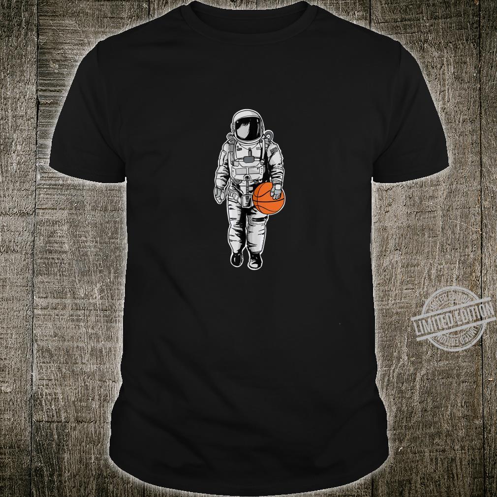 Basketball Space Astronaut Basketball Shirt