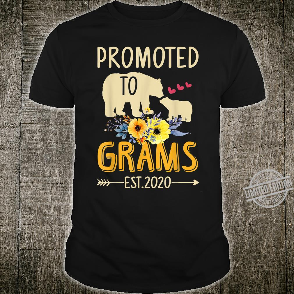 Bear Promoted to Grams Est 2020 Mother's Day Shirt