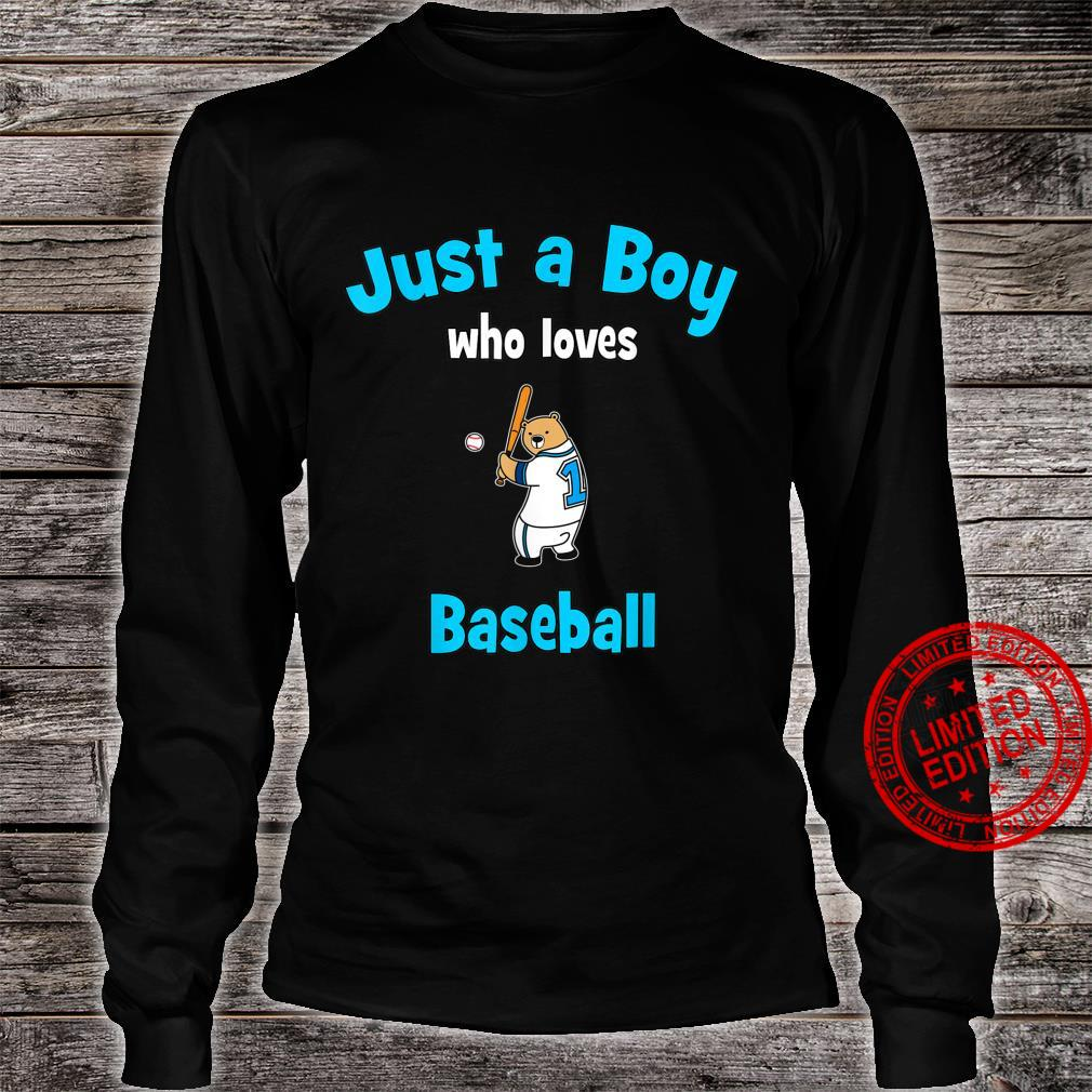 Boys Baseball Shirt Baseball Shirt long sleeved