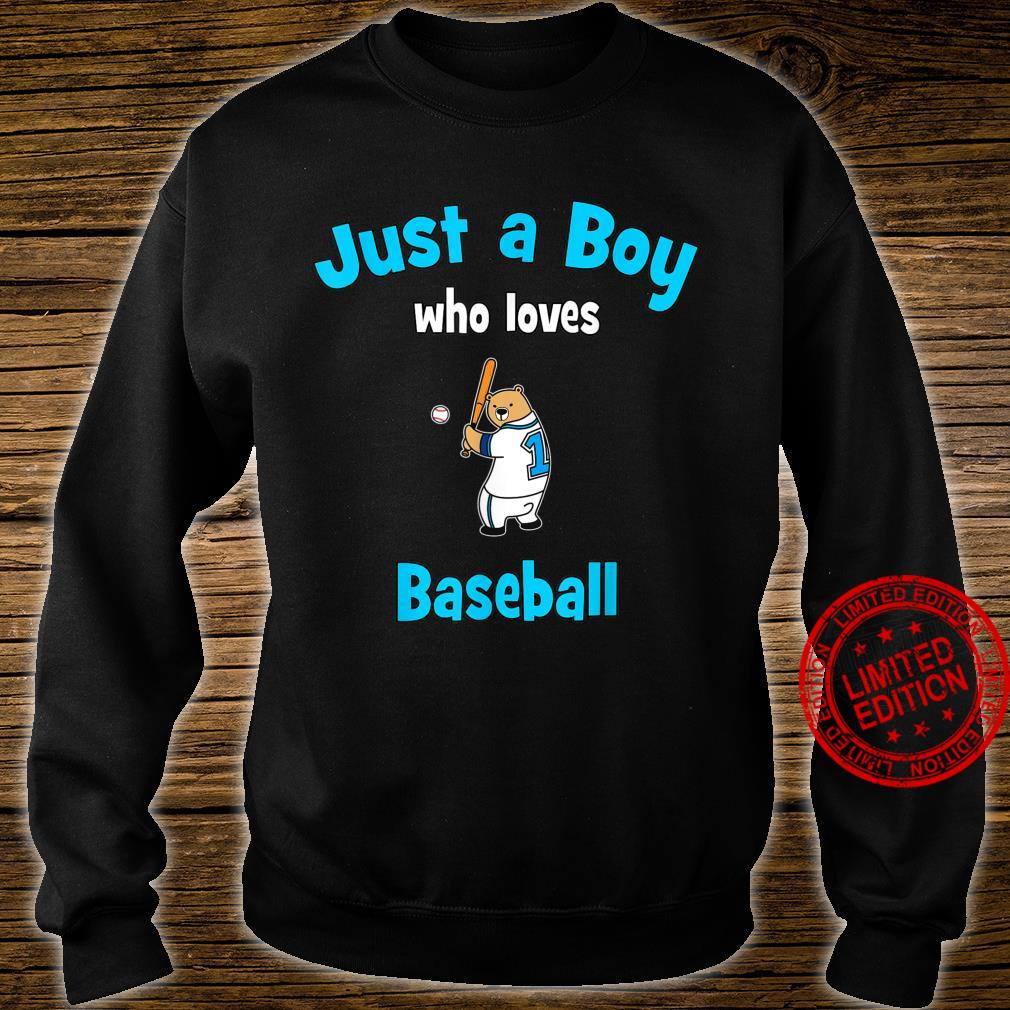 Boys Baseball Shirt Baseball Shirt sweater