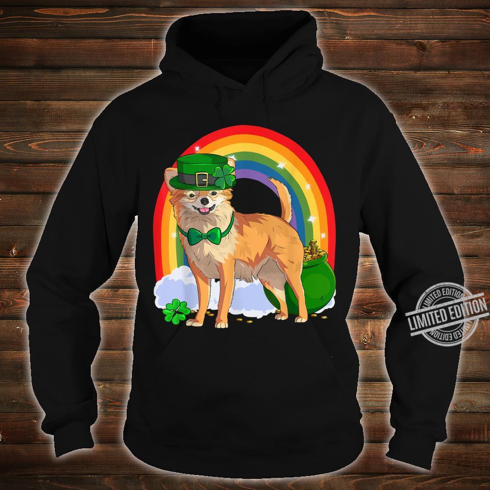 Chihuahua Lucky Leprechaun Dog St. Patrick's Day Shirt hoodie