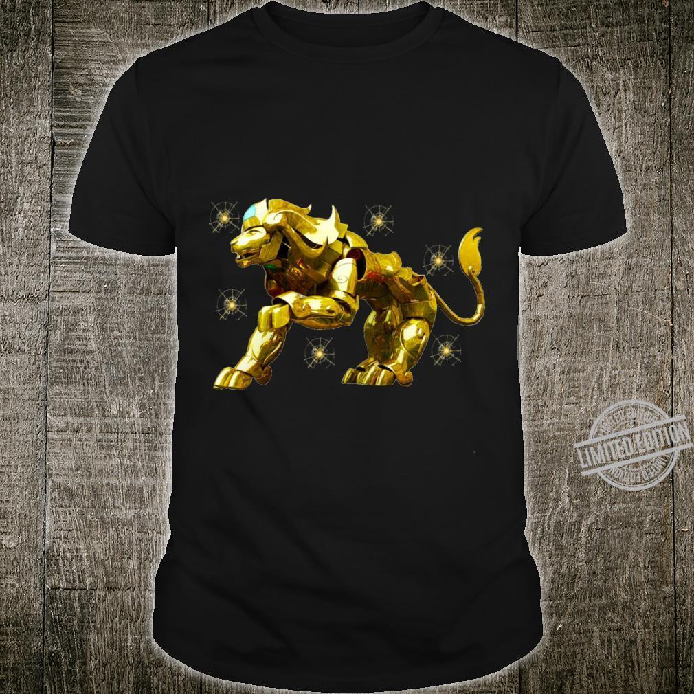 Copy of SAINT SEIYA AIORIA LEO GOLD CLOTH AIORIA GOLDEN CLOTH ARMADURA DORADA CABALLEROS DEL ZODIACO Racerback Shirt