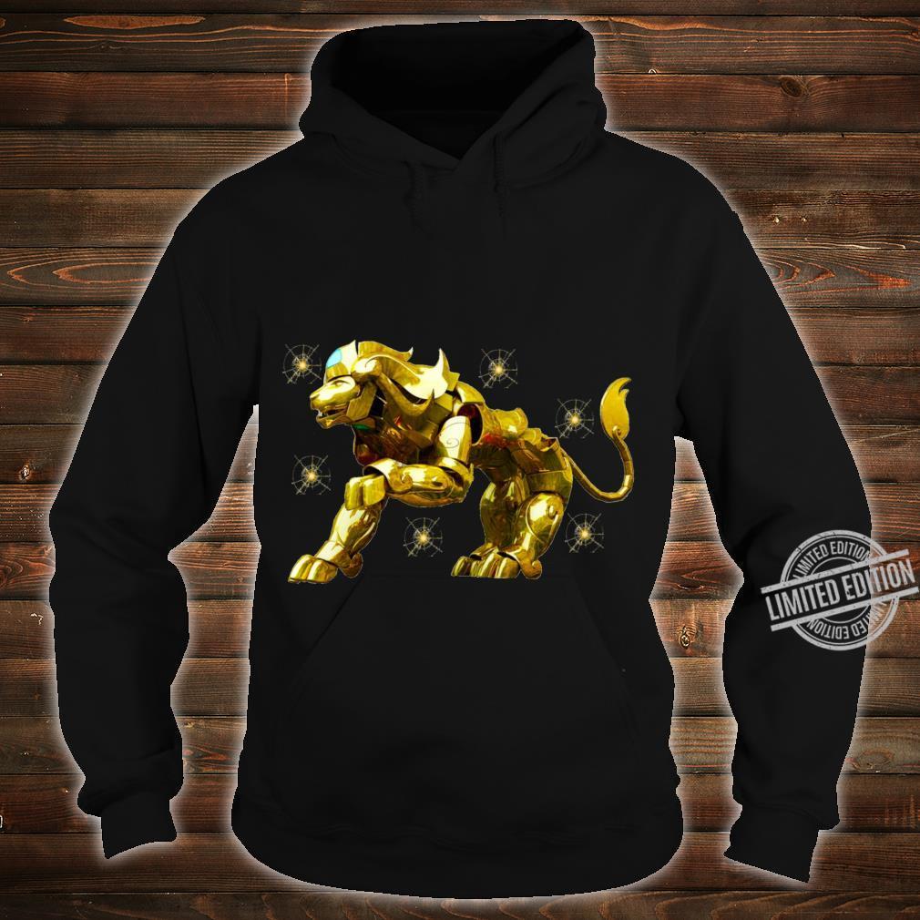 Copy of SAINT SEIYA AIORIA LEO GOLD CLOTH AIORIA GOLDEN CLOTH ARMADURA DORADA CABALLEROS DEL ZODIACO Racerback Shirt hoodie
