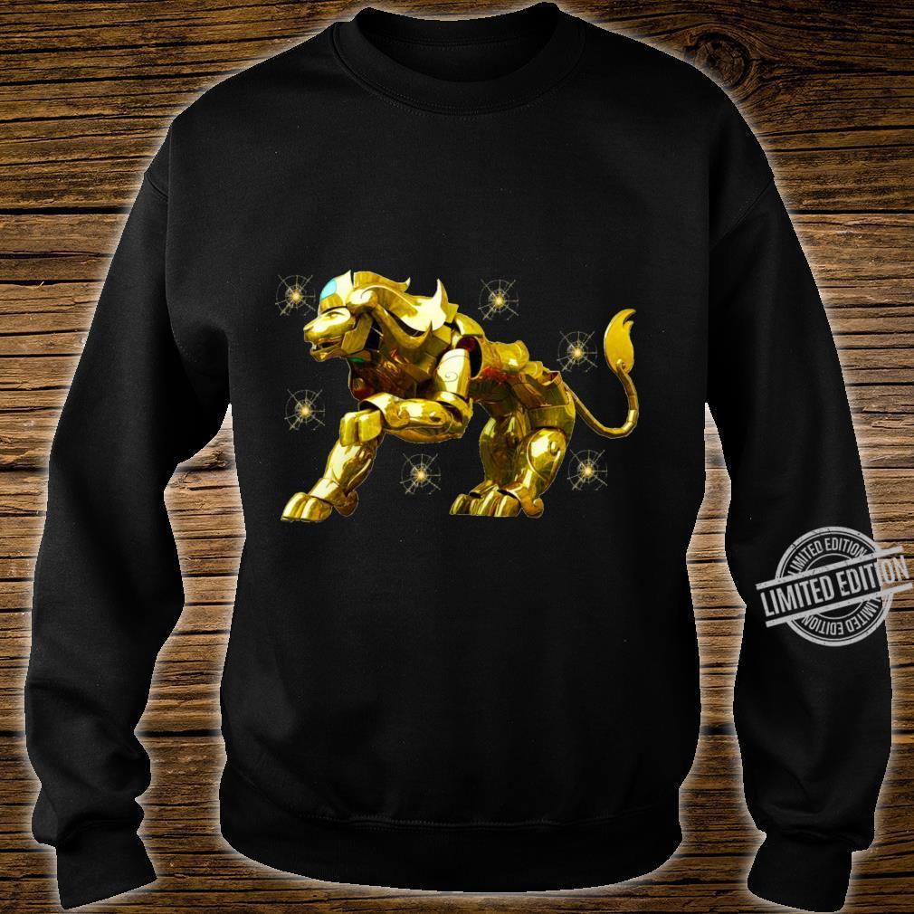 Copy of SAINT SEIYA AIORIA LEO GOLD CLOTH AIORIA GOLDEN CLOTH ARMADURA DORADA CABALLEROS DEL ZODIACO Racerback Shirt sweater