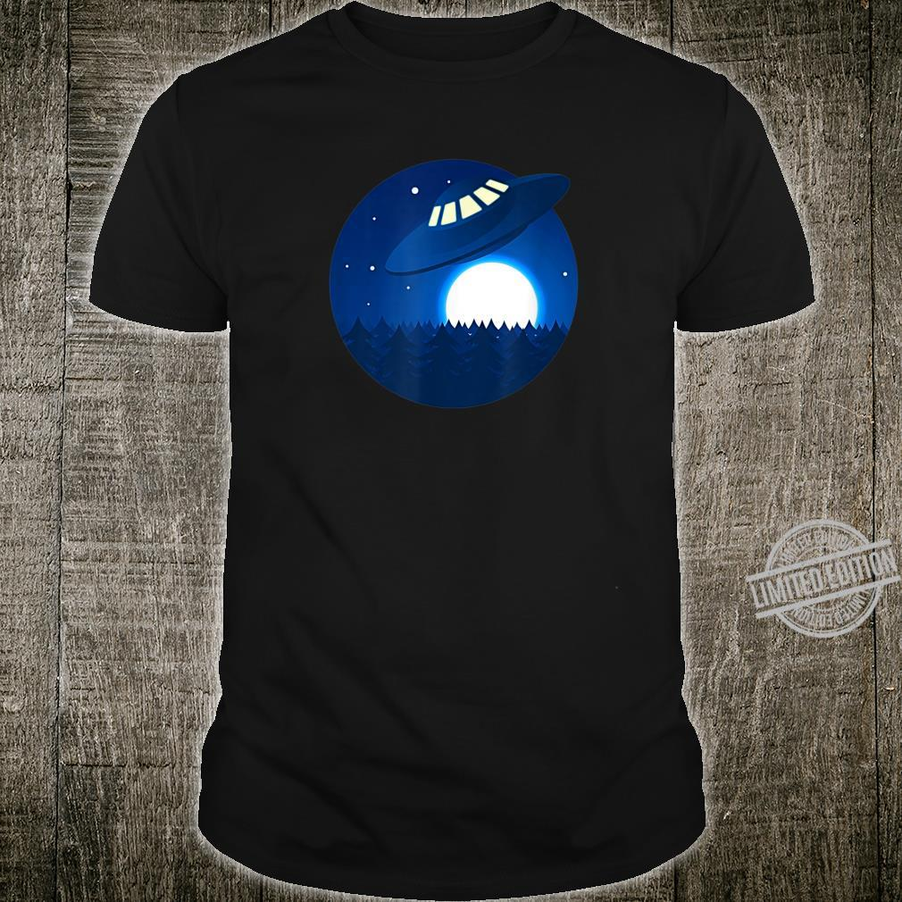 Cosmos Aliens UFO in Space Shirt