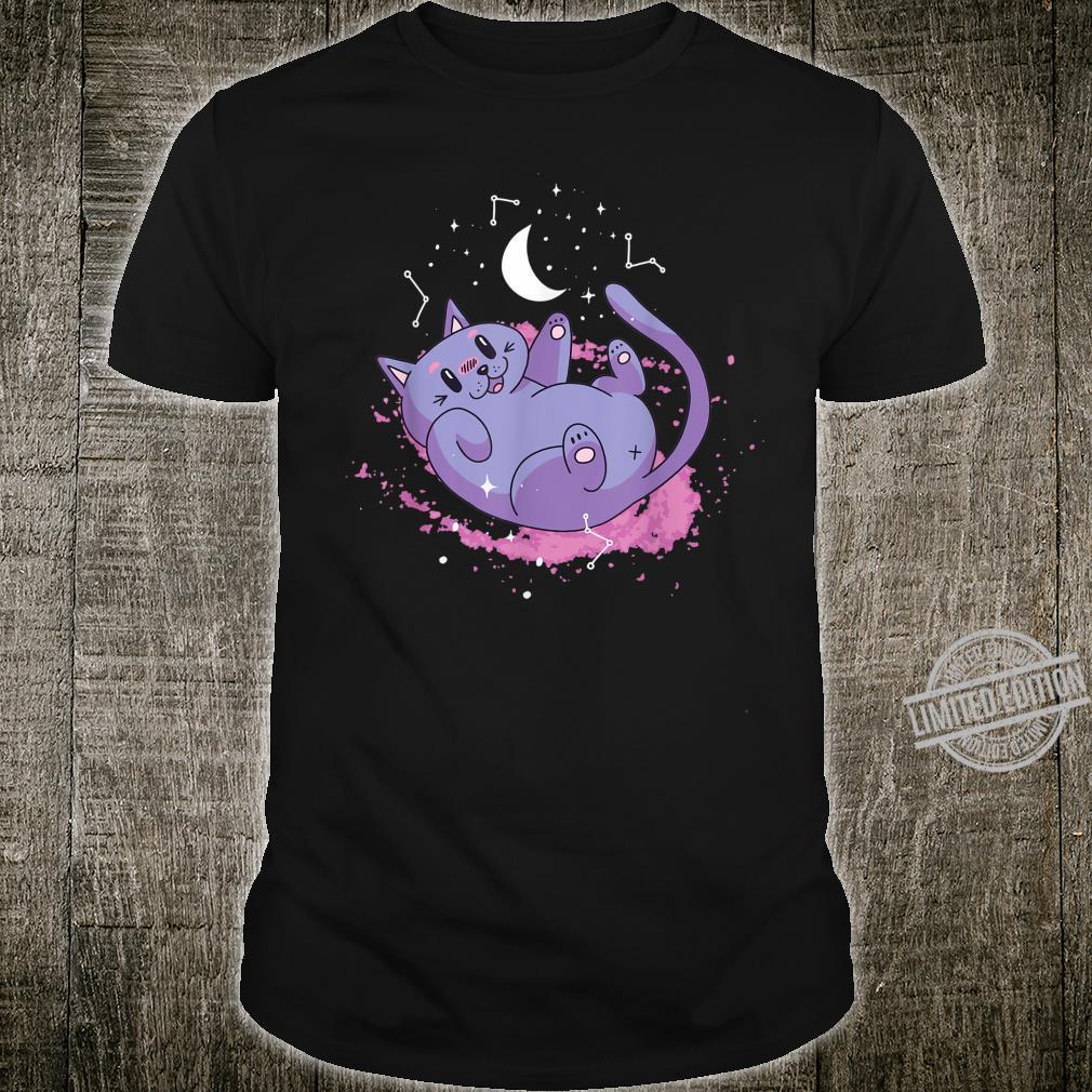 Cute Cat Kitty Kitten Space Shirt