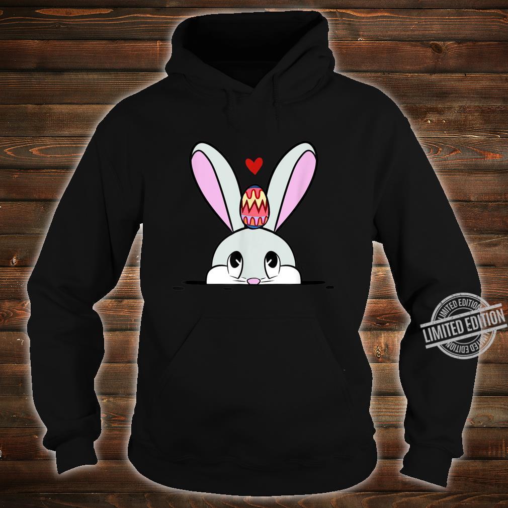 Cute Easter Bunny Easter Egg Hunting Costume Shirt hoodie