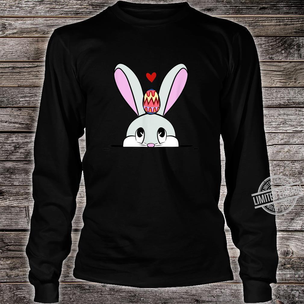 Cute Easter Bunny Easter Egg Hunting Costume Shirt long sleeved