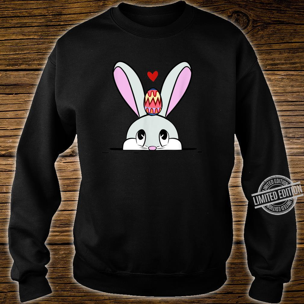 Cute Easter Bunny Easter Egg Hunting Costume Shirt sweater