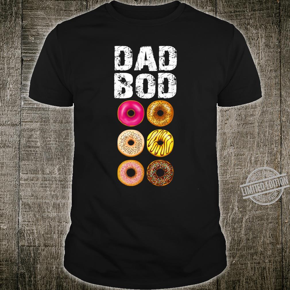 Dad Bod Donut Six Pack Daddy Gym Shirt