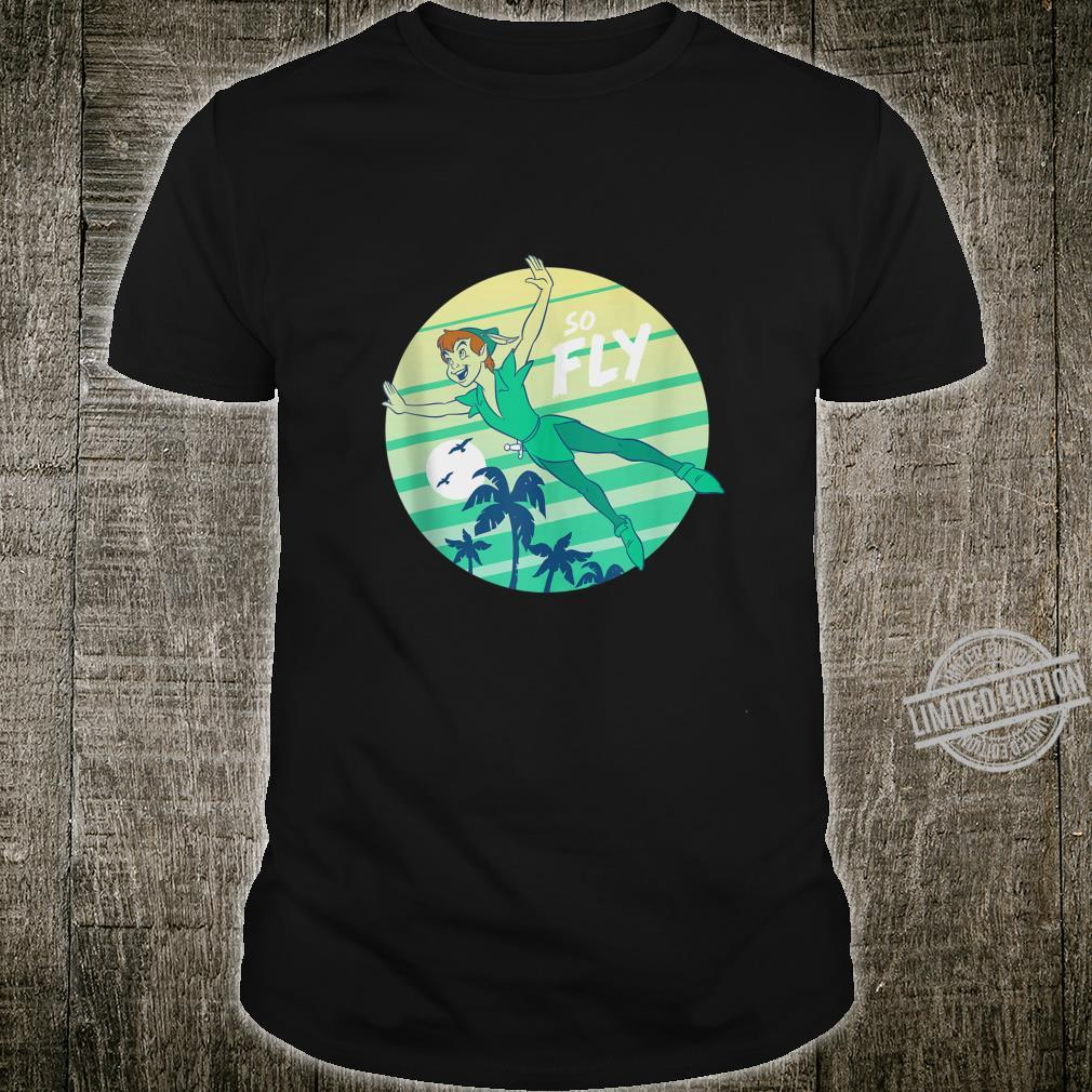Disney Peter Pan So Fly Retro Stripes Shirt