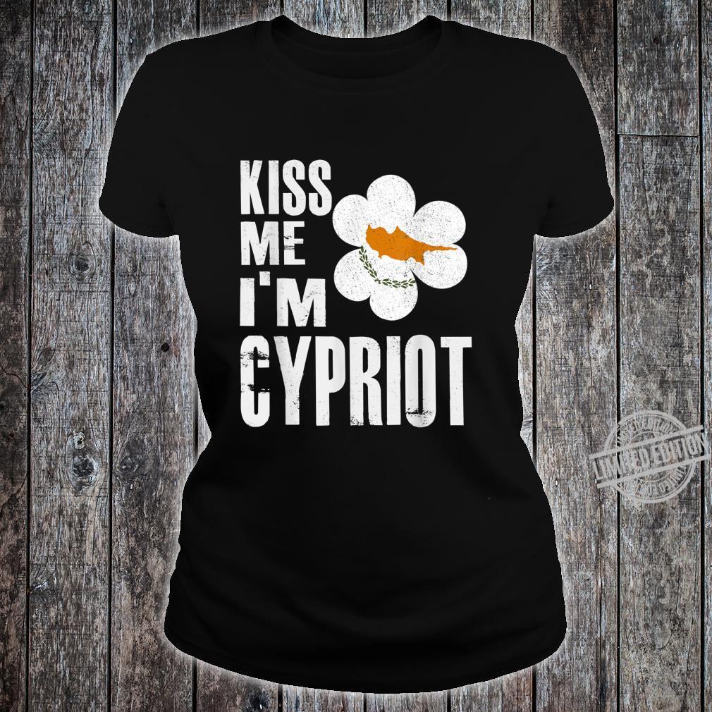 Cyprus text Ladies T-Shirt
