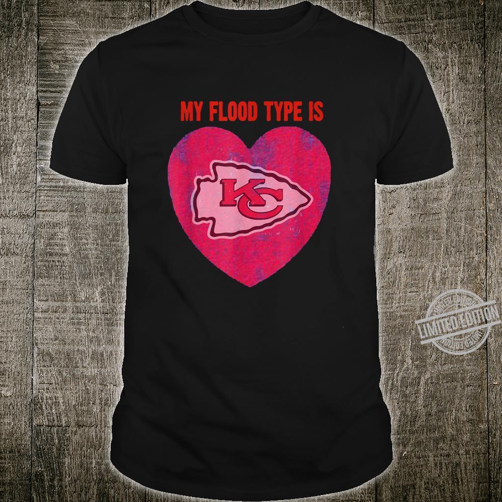 My Flood Is Kansass City KC Chief Fan KC Shirt