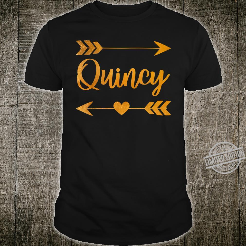 QUINCY MA MASSACHUSETTS City Home Roots USA Shirt