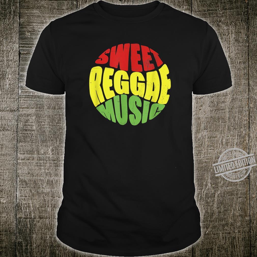 Reggae Music Jamaican Shirt