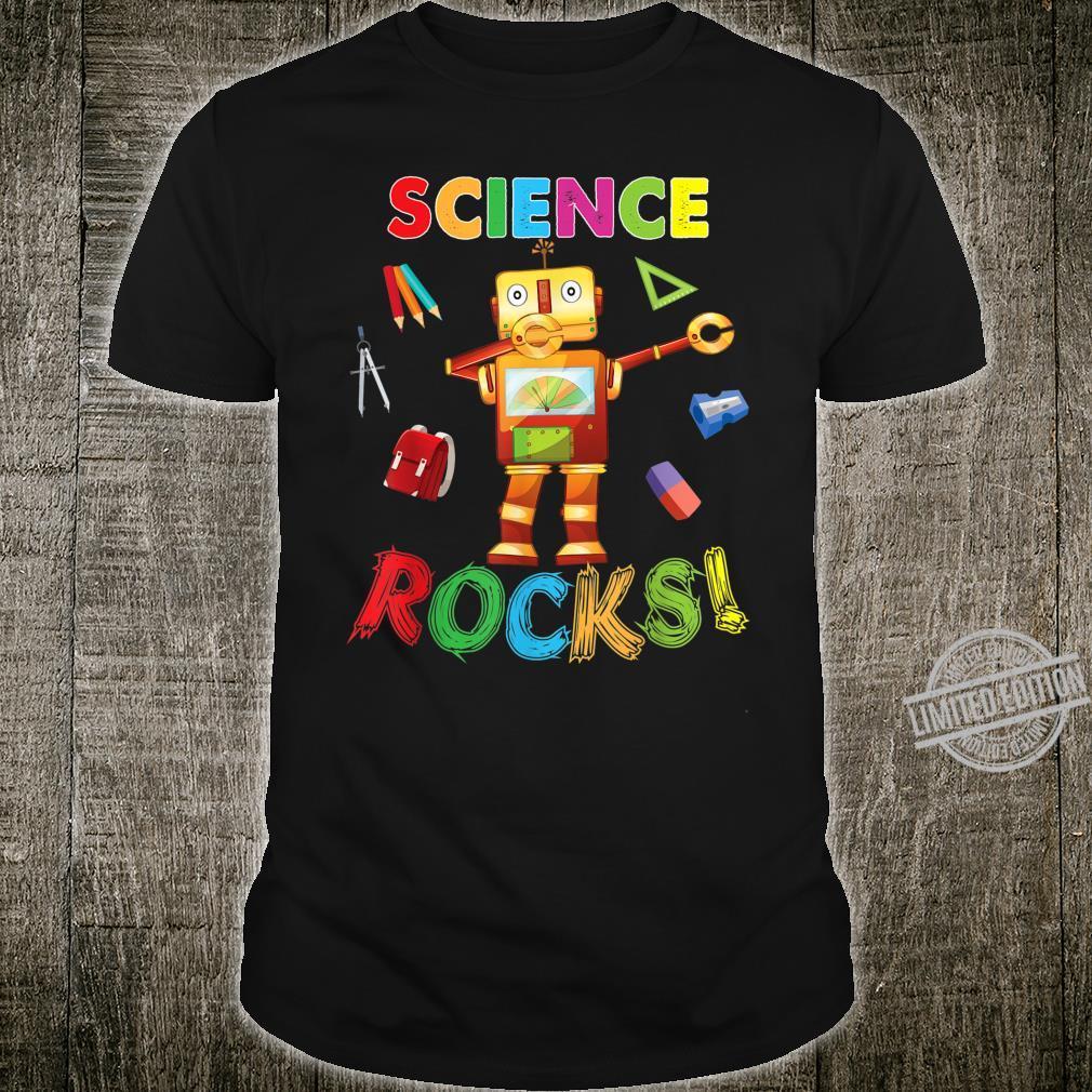Science Rocks Teacher Student Back To School Dabbing Shirt