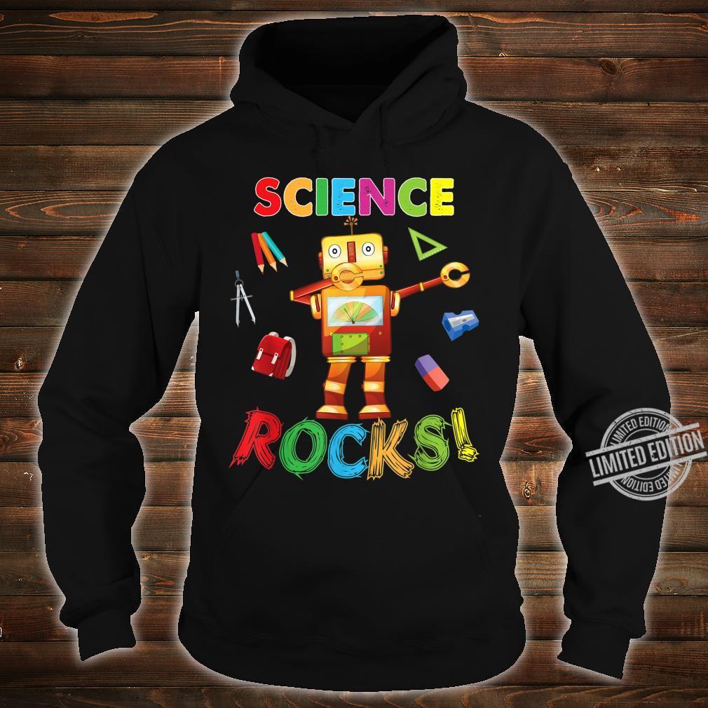 Science Rocks Teacher Student Back To School Dabbing Shirt hoodie