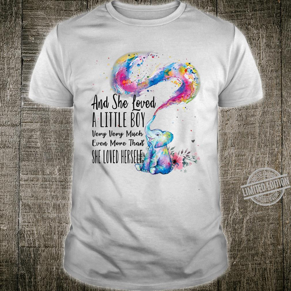 She Loved A Little Boy Very Much Autism Elephant Mom Shirt